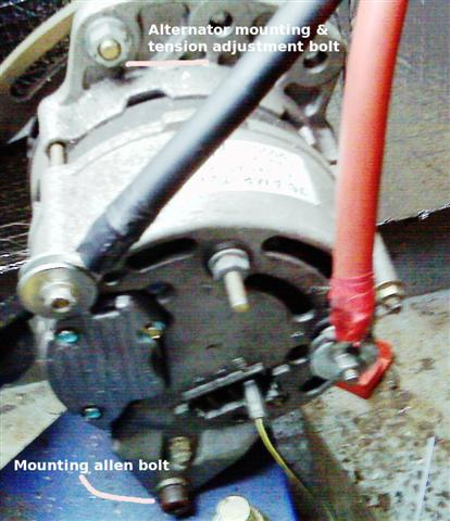 a alternator wiring diagram a image wiring how to guide installing a sterling advanced regulator pdar on a127 alternator wiring diagram